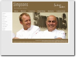 https://www.simpsonsrestaurant.co.uk/ website