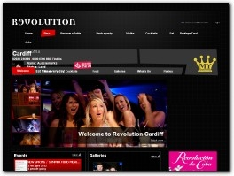https://www.revolution-bars.co.uk/bar/cardiff/ website