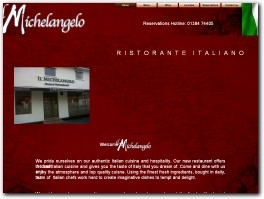 http://www.ilmichelangelo.co.uk website