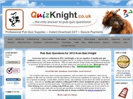 https://www.quizknight.co.uk/ website