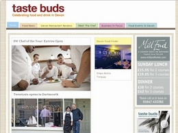 http://www.tastebudsmagazine.co.uk website