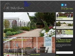 http://www.walledgardennottingham.co.uk website