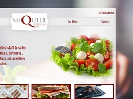 http://miquillcatering.co.uk/ website