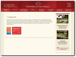 https://www.hambletonhall.com/ website