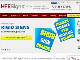 https://www.hfe-signs.co.uk/ website