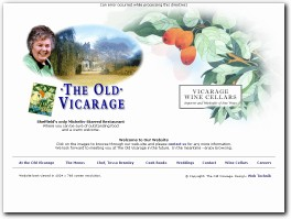 https://www.theoldvicarage.co.uk/ website