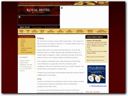 http://www.royalhotelstirling.com/ website