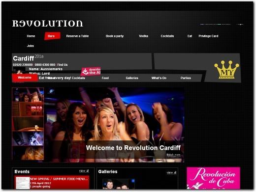 https://www.revolution-bars.co.uk/bar/cardiff/ website
