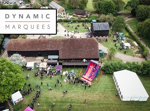 https://www.dynamicmarquees.co.uk/ website