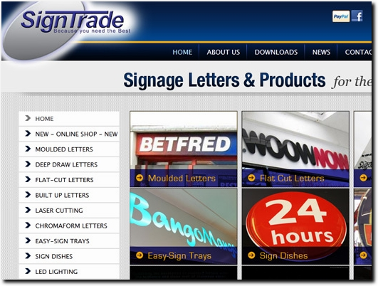 http://www.signtrade.co.uk/ website